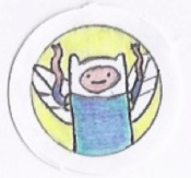 """This """"Finn Fairy"""" is my younger daughter's homage to Adventure Time"""
